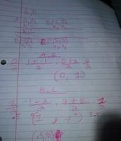 Points A,B & B,C