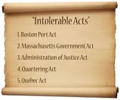 The intolerable acts: