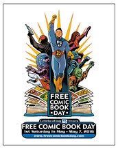 Free Comic Book Day is this weekend!