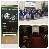 AVID Classes were invited to watch a production of Coraline
