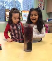 Water Volcano Experiment