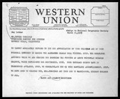 1939 WESTERN UNION TELEGRAM