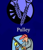 Pulley & screw