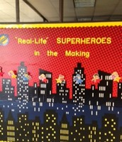 "First Graders are becoming ""real-life"" superheroes!"