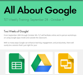 All About Google Week