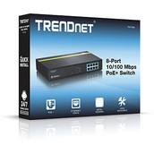 TPE-T80H - Switch de 8 puertos PoE+ a 10/100 Mbps
