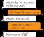 Longhorn Homecoming Week's Events