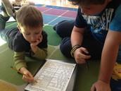 Testing our Kindergarten Buddies