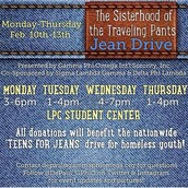 Sisterhood of the Traveling Pants Jean Drive