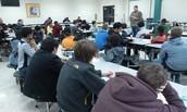 Brandon Johnson Leading the Discussion!