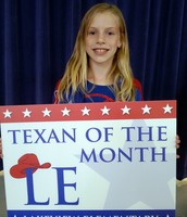 4th Grade Texan of the Month