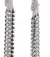 Adrienne Mixed Chains Earrings