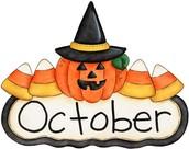 What's happening in October?