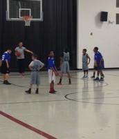 Basketball at Gus Franklin
