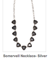Silver Sommerveil Necklace  Reg $59 ~ Sale $30