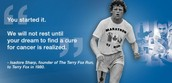 Our Annual National Terry Fox School Run is Around the Corner!