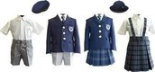 Elementary school uniforms: