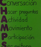 Spanish CHAMPS poster