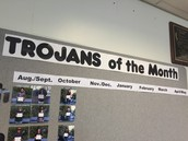 Trojans of the Month (reprint from Trojan Parent Update)