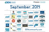 DEN Calendar of Events! Check it out!