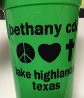 Bethany CDC cups