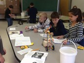 Motion and Design Unit in Mrs. Hurst's classroom.