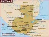 A Map of Guatemala