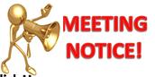 Weekly Meetings: