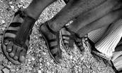 temple sandals