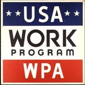 USA work program poster