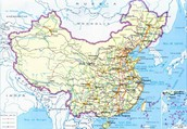 China's Transportation Map