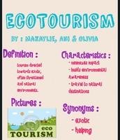 Ecotourism: