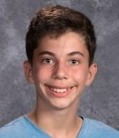 Alex Hatfield, 8th grade