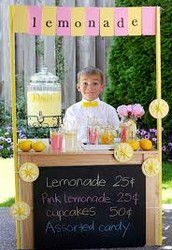 Come to our lemonade Stand