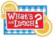 New High School Lunch Menu