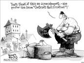 Political Cartoon Description