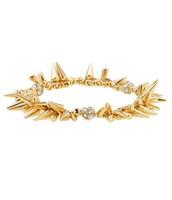 Gold Renegade Cluster Stretch Bracelet