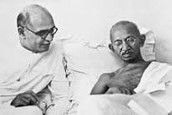 This is when Gandhi was dying.