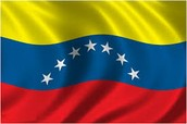 Venezuela's color of there flag
