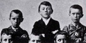 School photo of Hitler