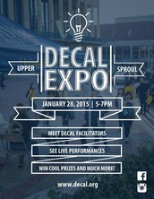 DeCal Expo - Spring 2015