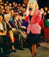 Saralegui in The Cristina's show  in 1992