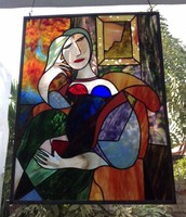 Stained glass by Granville Latham