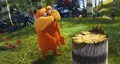 example of deforestation in the movie the Lorax