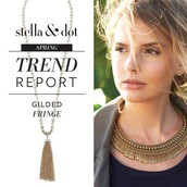 Trend #2: Gilded Fringe