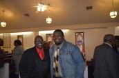 The Concord Brethren Fellowship after Service