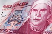 Morelos on Mexican money
