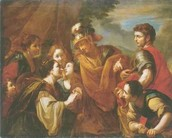 a painting of Alexander the great