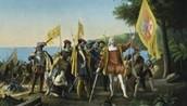 Columbus stumbled across America...