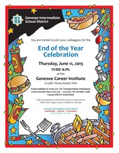 Don't Miss the End of the Year Celebration!